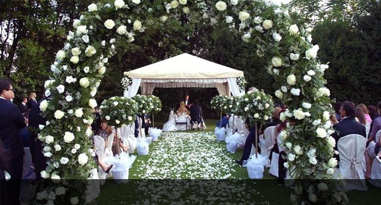 addobbo floreale matrimonio roma